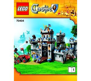 LEGO King's Castle Set 70404 Instructions
