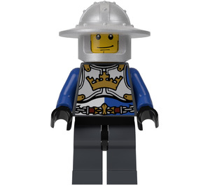 LEGO King's Knight with Crown Breastplate and Helmet Minifigure