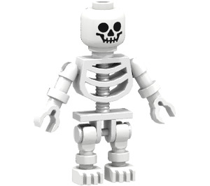 LEGO Kingdoms Advent Calendar Set 7952 Subset Day 10 - Skeleton