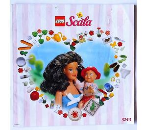 LEGO Kitchen Set 3243 Instructions