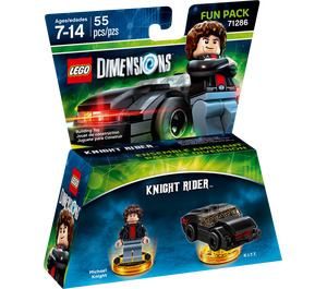 LEGO Knight Rider Fun Pack Set 71286 Packaging