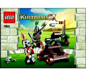 LEGO Knight's Showdown Set 7950 Instructions