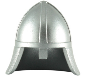 LEGO Knights Helmet with Neck Protector (3844 / 15606 / 59600)