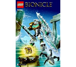 LEGO Kopaka - Master of Ice Set 70788 Instructions