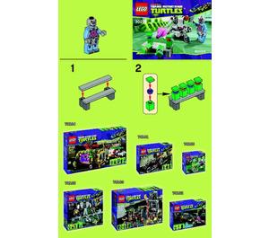 LEGO Kraang's Turtle Target Practice Set 30270 Instructions