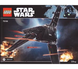 LEGO Krennic's Imperial Shuttle Set 75156 Instructions