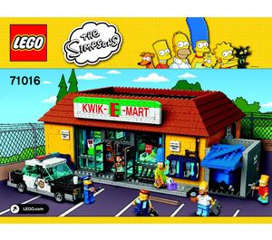 LEGO Kwik-E-Mart Set 71016 Instructions