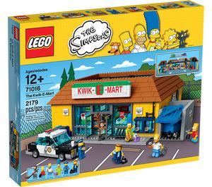 LEGO Kwik-E-Mart Set 71016 Packaging