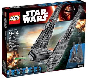 LEGO Kylo Ren's Command Shuttle Set 75104 Packaging
