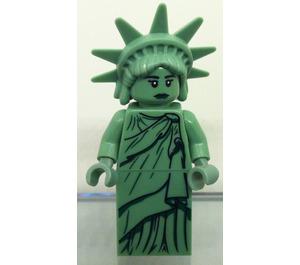 LEGO Lady Liberty Minifigure