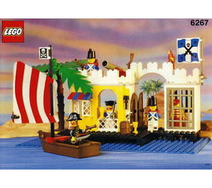 LEGO Lagoon Lock-Up Set 6267