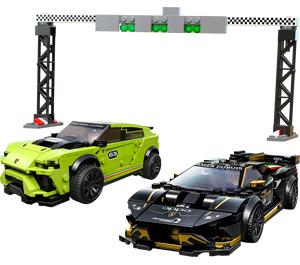 LEGO Lamborghini Urus ST-X & Huracán Super Trofeo EVO  Set 76899