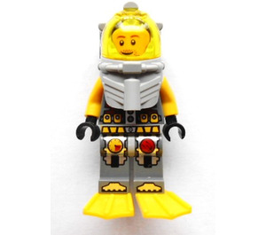 LEGO Lance Spears Diver Minifigure