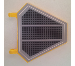 LEGO Large Flag Stickered from set 75038 (51000)