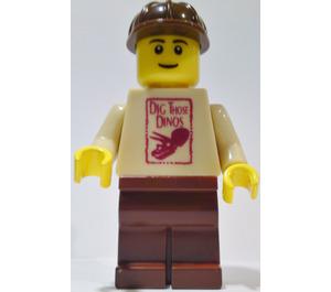 LEGO Large Minifigure from Legoland California 'Dig Those Dinos'