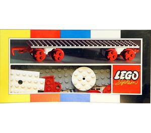 LEGO Large Train Wagon Set 153