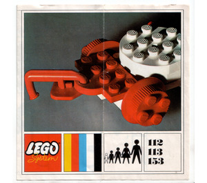 LEGO Large Train Wagon Set 153 Instructions