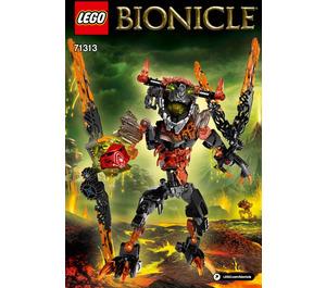 LEGO Lava Beast Set 71313 Instructions
