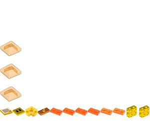 LEGO Lava Bubble Minifigure