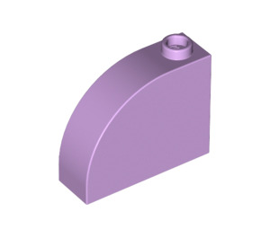 LEGO Lavender Brick 1 x 3 x 2 Curved Top (33243)