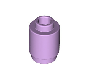 LEGO Lavender Brick Round 1 x 1 with Open Stud (3062)