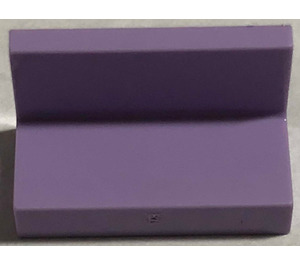 LEGO Lavender Panel 1 x 2 x 1 without Rounded Corners