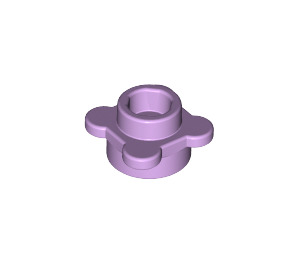 LEGO Lavender Plate 1 x 1 Round with Tabs (28573 / 33291)