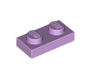 LEGO Lavender Plate 1 x 2 (3023)