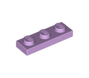 LEGO Lavender Plate 1 x 3 (3623)