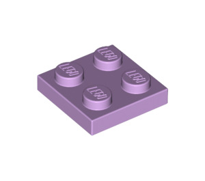 LEGO Lavender Plate 2 x 2 (3022)