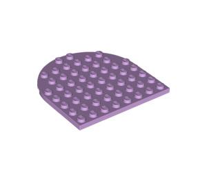 LEGO Lavender Plate 8 x 8 1/2 Circle (41948)