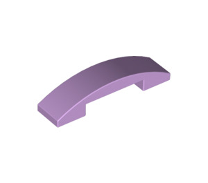 LEGO Lavender Slope 1 x 4 Curved Double (93273)