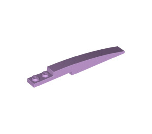 LEGO Lavender Slope Curved 8 x 1 with Plate 1 x 2 (13731)