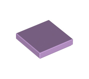 LEGO Lavender Tile 2 x 2 with Groove (3068)