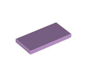 LEGO Lavender Tile 2 x 4 (87079)