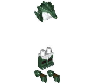 LEGO Leatherhead Minifigure
