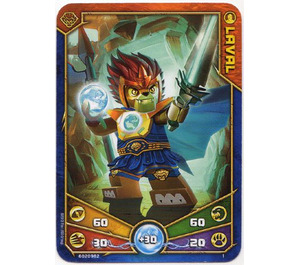 LEGO Legends of Chima Game Card 001 LAVAL (12717)