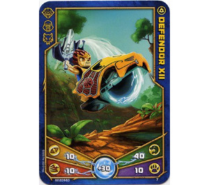 LEGO Legends of Chima Game Card 007 DEFENDOR XII (12717)