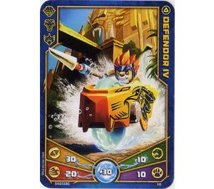 LEGO Legends of Chima Game Card 010 DEFENDOR IV (12717)