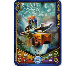 LEGO Legends of Chima Game Card 016 CHI JABAKA (12717)
