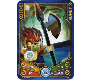 LEGO Legends of Chima Game Card 019 JAHAK (12717)