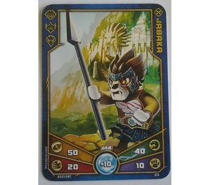 LEGO Legends of Chima Game Card 023 JABAKA (12717)