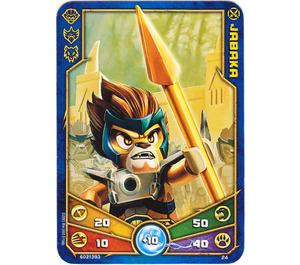 LEGO Legends of Chima Game Card 024 JABAKA (12717)