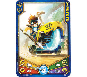 LEGO Legends of Chima Game Card 030 ROTOTO (12717)