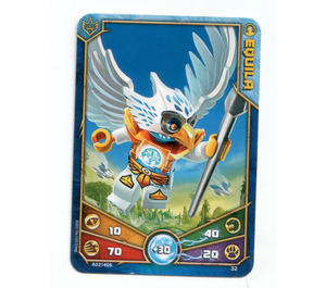LEGO Legends of Chima Game Card 032 EQUILA (12717)