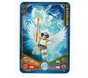 LEGO Legends of Chima Game Card 038 AXCALION (12717)