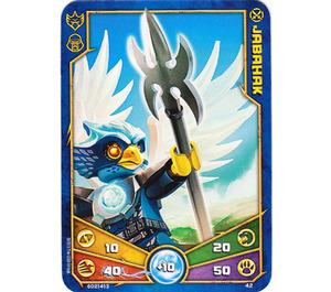 LEGO Legends of Chima Game Card 042 JABAHAK (12717)