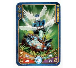 LEGO Legends of Chima Game Card 045 AEROZOR (12717)