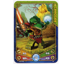 LEGO Legends of Chima Game Card 056 CRAGGER (12717)