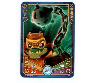 LEGO Legends of Chima Game Card 066 KRANK (12717)